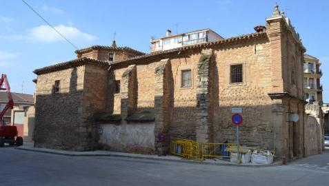 Se inicia el derribo de la casa anexa a la lodosana basílica de Montserrat