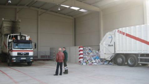 La planta de compostaje tratará  1.000 toneladas al año en Arbizu
