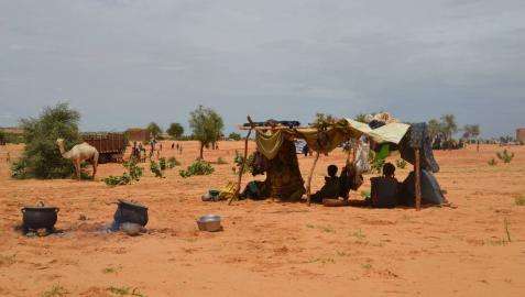 Refugiados en el país más pobre