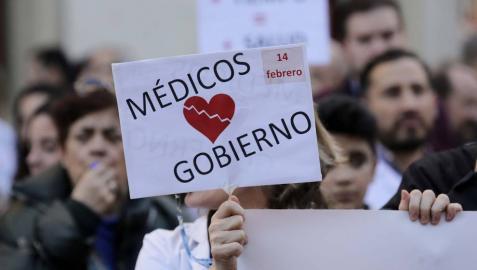 Convocan asambleas médicas para estudiar las próximas acciones