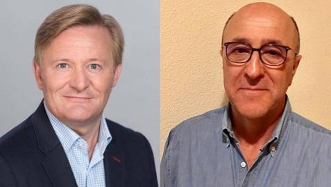 Adolfo Alústiza y Luis Pezonaga, candidatos de Vox al Congreso y al Senado