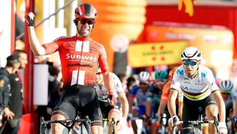 Matthews se lleva la segunda etapa de la Volta; De Gendt mantiene el liderato