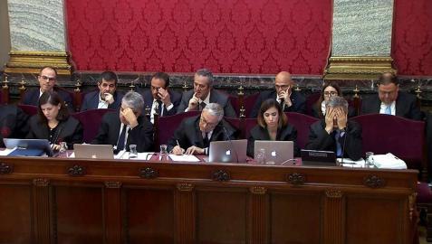"""La Guardia Civil vio en Cataluña """"un polvorín"""" con clima insurreccional"""