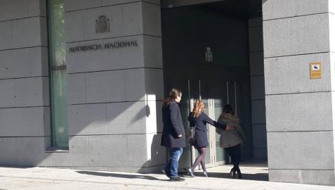 Iglesias llega a la AN como perjudicado en el caso Villarejo por la sustracción de un móvil