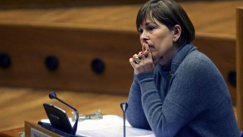La presidenta Barkos declara tener 3.400 euros en su cuenta bancaria