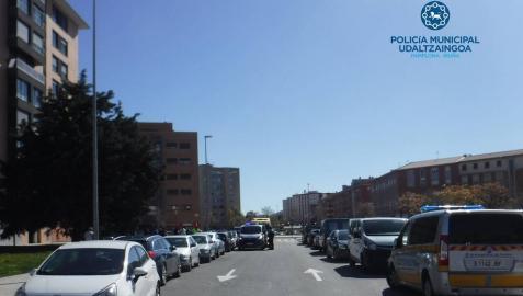 Atropellados dos niños en sendos atropellos este martes en Pamplona