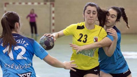 Este fin de semana se disputaron en Burlada y Noáin las Finales a Cuatro de balonmano en las categorías juveniles. Los cuatro mejores equipos femeninos y los cuatro mejores masculinos se jugaron la liga en encuentros que registraron un gran ambiente.