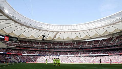 El Wanda bate el récord mundial de asistencia a un partido de fútbol femenino