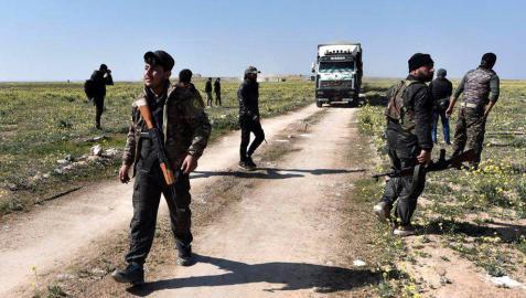 Las Fuerzas Democráticas Sirias (FDS) han tomado Baghuz, el último enclave controlado por el Estado Islámico en Siria.