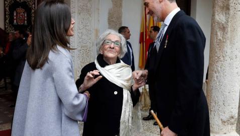 Ida Vitale recibe el Premio Cervantes: