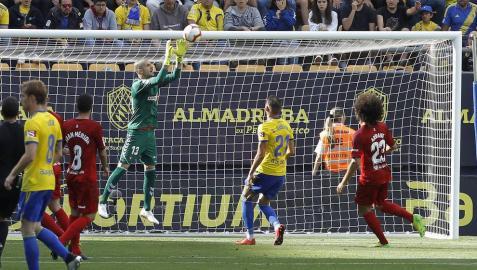 Galería de fotos del partido disputado en el estadio Ramón de Carranza.