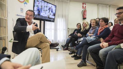 """""""San Fermín es el ambiente perfecto para una novela negra"""""""