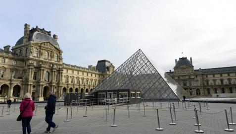 El Louvre se mantiene como el museo visitado del mundo