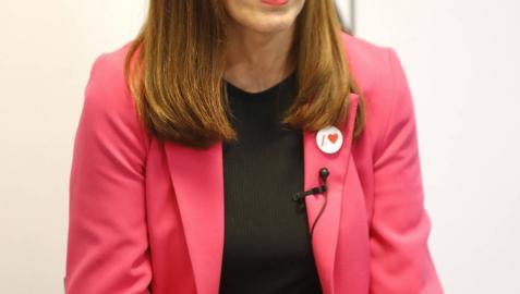 """Esporrín: """"Si me vota Bildu, no dimitiré como alcaldesa"""""""