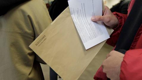 Tramitadas 21.148 solicitudes de voto por correo en Navarra