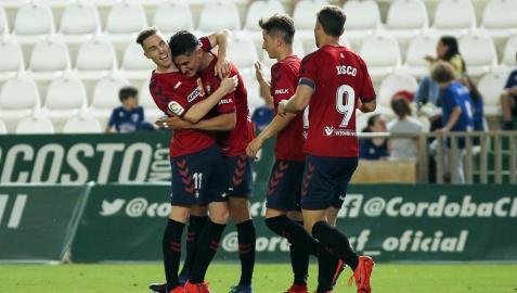 Fotos de la victoria del equipo navarro en el Nuevo Arcángel que le ha dado el título de la Liga 1/2/3.