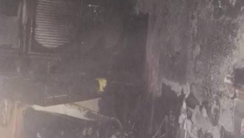 Atendidas tres personas en el incendio de una vivienda en Valladolid