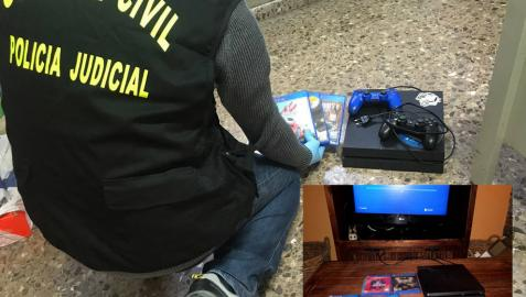 La Guardia Civil detiene a los autores de una oleada de robos en viviendas de Milagro