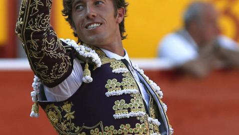 Manuel Escribano confirma en Pamplona su gran proyección