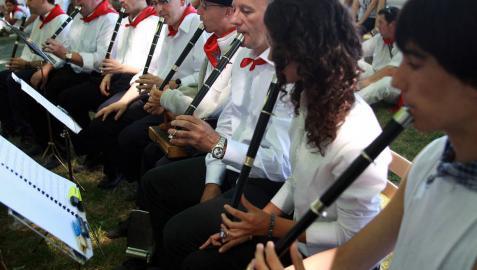 El Alarde de Txistularis, en torno a la música celta, escocesa e irlandesa