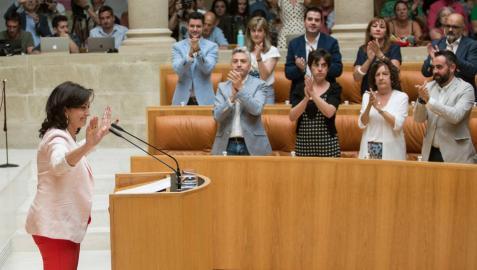 Dulanz: Concha Andreu se columpia