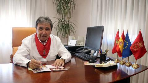 José Ignacio Pardo Blanco (PSN), alcalde de Milagro.