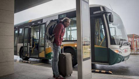 Solo el 4% de los viajeros del aeropuerto utiliza la villavesa