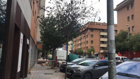 En marcha obras para una casa de apuestas en Huarte