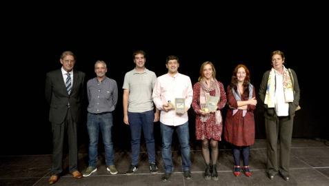 Fátima Frutos gana el certamen de poesía María del Villar de Tafalla