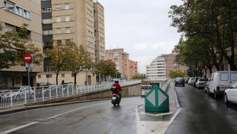 Aranzadi propone que en la calle Iturrama solo circulen vecinos con límite de 30 km/h