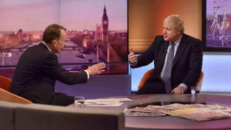 Boris Johnson defiende penas más duras para responsables de delitos graves y de terrorismo