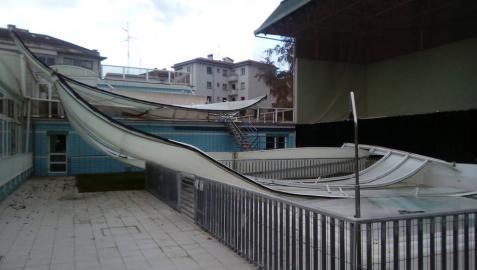 Guelbenzu permanecerá cerrado mientras se reparan los daños del temporal