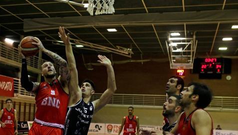 Basket Navarra no sorprendió al campeón de Copa