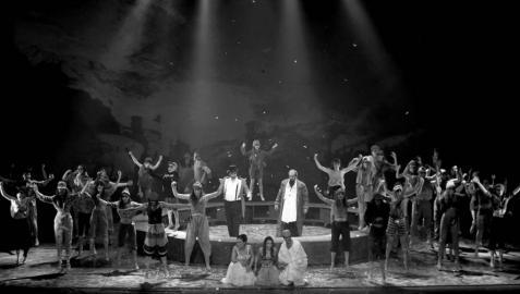 Los 40 ladrones, de Ópera de Cámara de Navarra, roban el corazón en Bilbao