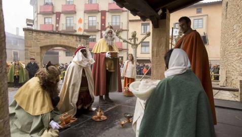 Todas las fotos de la 120ª representación del Auto de los Reyes Magos en Sangüesa