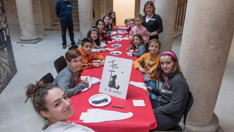 Los museos de Estella despiden la Navidad con talleres para los más pequeños