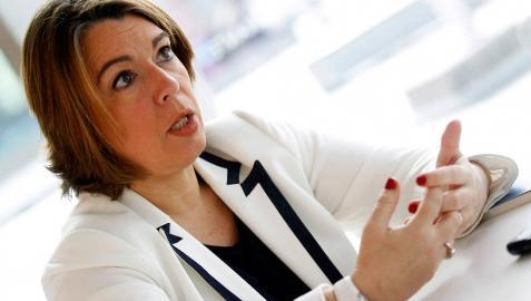 Amelia Salanueva se perfila como la tercera aspirante dentro de UPN