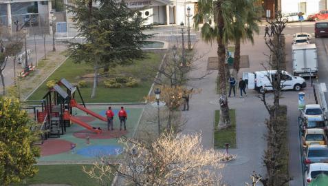 Policía Foral investiga una presunta agresión sexual en el centro de Tudela