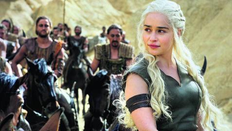 """Emilia Clarke: """"Juego de Tronos' es la vida real"""""""