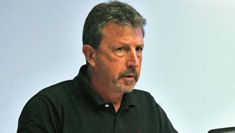 Luis Ordoki, en una comparecencia parlamentaria.
