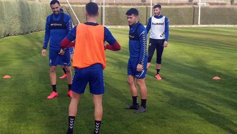 José Arnaiz ya se entrena en Tajonar