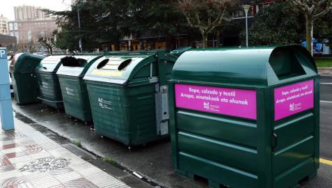 El reciclaje de ropa aumentó en Pamplona y Comarca un 39% con los contenedores de ropa