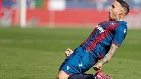 Dos chispazos le bastan al Levante para ganar al Leganés