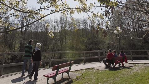 Jueves Santo con tiempo soleado y temperaturas altas en toda Navarra