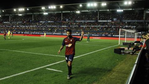 El estado de Rubén García marca la alineación de Osasuna