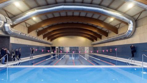 Abren las nuevas instalaciones deportivas de Zizur tras una complicada reforma