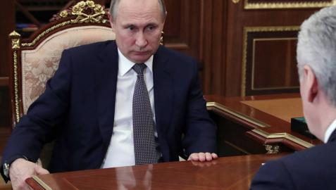 Putin amaga pero no pega