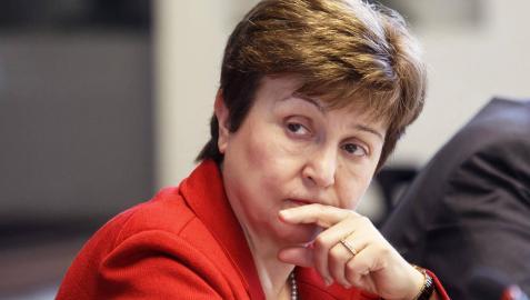 La búlgara Kristalina Georgieva, candidata europea a la presidencia del FMI