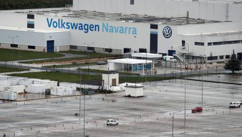 Volkswagen Navarra solicita un ERTE por causa de fuerza mayor