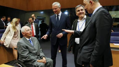 El Eurogrupo desbloquea 8.500 millones del rescate para Grecia